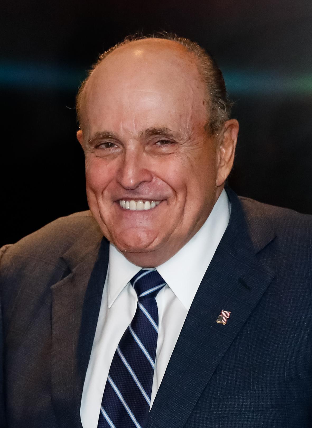 24/09/2019 Rudolph Giuliani, Ex-Prefeito de Nova York